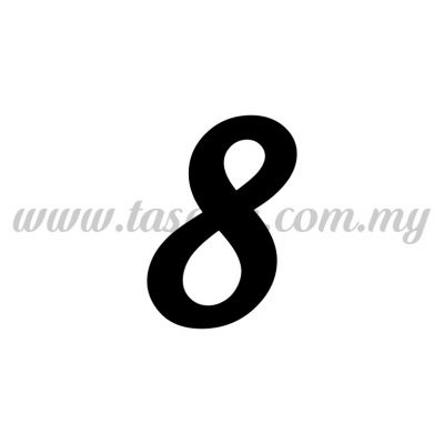 "Sticker Number ""8"" - Regular (SK-0NUM5-8)"
