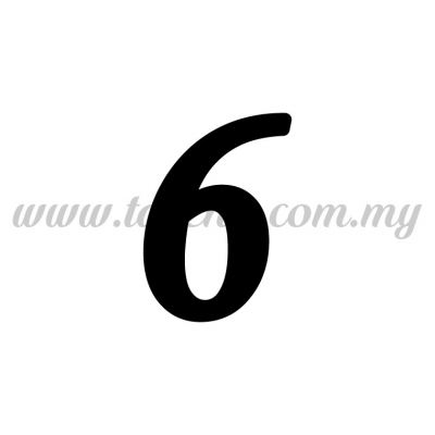 "Sticker Number ""6"" - Regular (SK-0NUM5-6)"