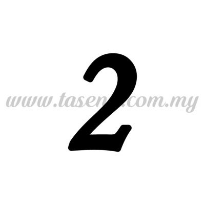 "Sticker Number ""2"" - Regular (SK-0NUM5-2)"