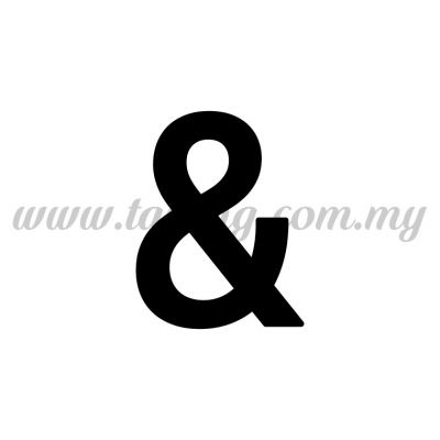 "Sticker Number ""&"" - Regular (SK-&5)"