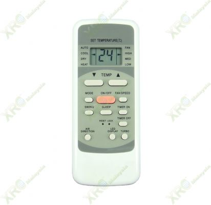 MSK4-24CRN1 MIDEA AIR CONDITIONING REMOTE CONTROL