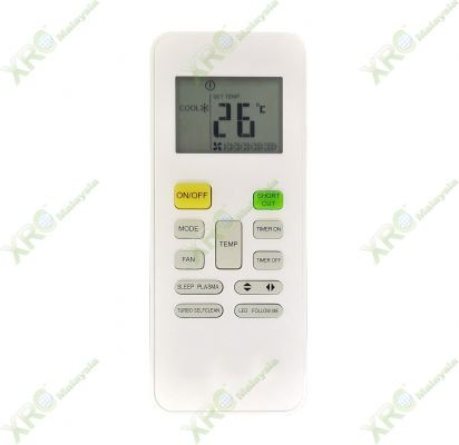MSF-10CRN MIDEA AIR CONDITIONING REMOTE CONTROL