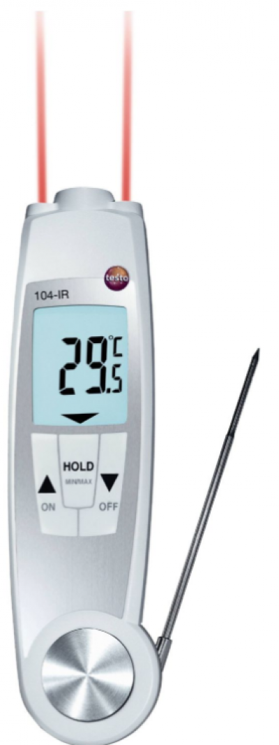 TESTO 104-IR Food safety thermometer