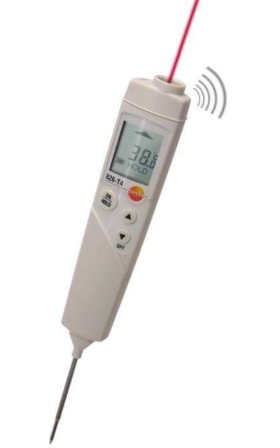 TESTO 826-T4 Penetration Infrared Thermometer