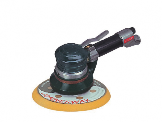 6'' DUST FREE TYPE ORBITAL AIR SANDER P/N: JAS-1033-6HE