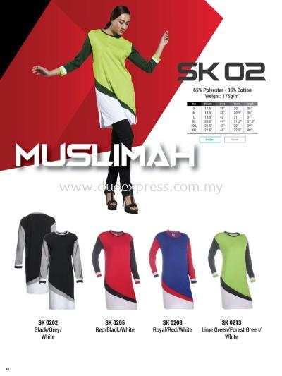 Oren SK02 Muslimah