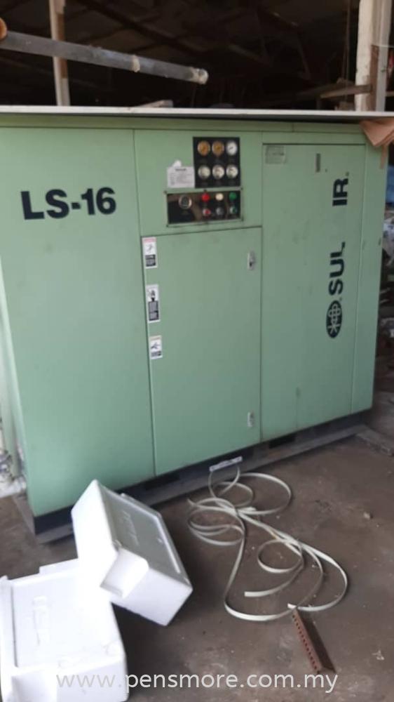Used sullair screw compressor