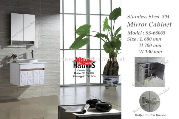 DINGS SS68065 MIRROR CABINET