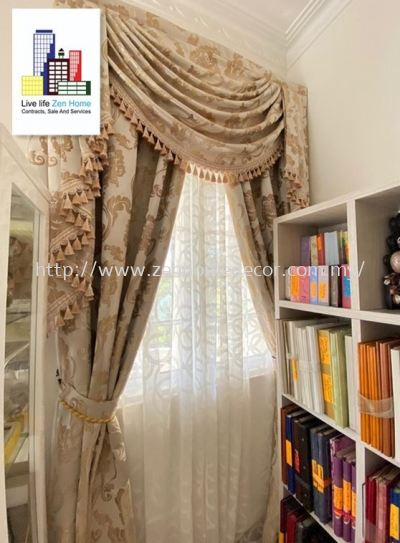 Scallop Curtain & Lace