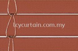 One Inch Outdoor Wood Blind- Wire
