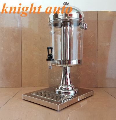 S.S Polycarbonate 8L Juice Dispenser / Beverages Ice Chamber Tong Air Katering Serbaguna  ID32272