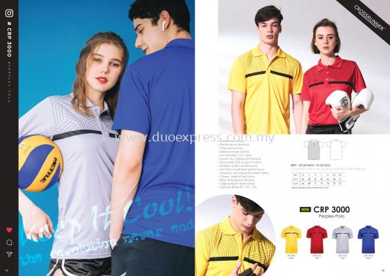 Cross Runner CRP 3000 Polo T Shirt