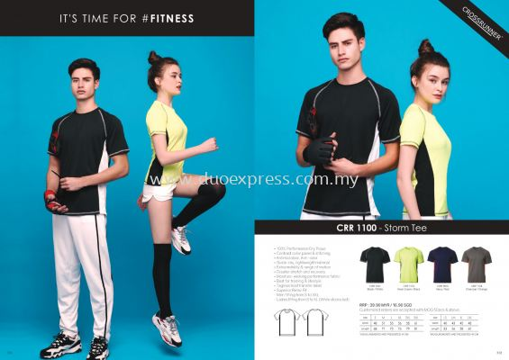 Cross Runner CRR1100 Roundneck T Shirt