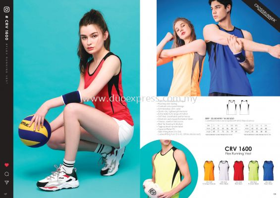 Cross Runner CRV1600 Running Vest T Shirt