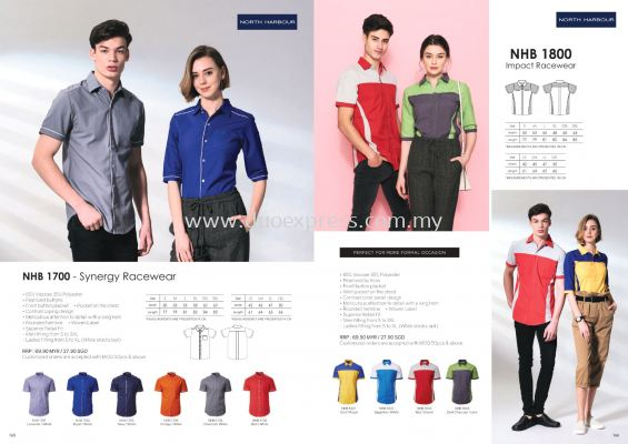 North Harbour NHB18000 Casual and Working Shirt