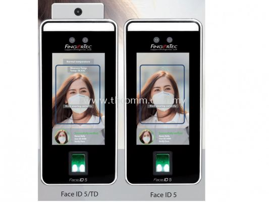 Face ID 5 Hybrid Face Recognition Access Device