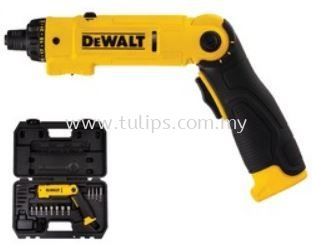 DCF008 8V Lithium Ion Cordless Screwdriver with 45pcs accessories & charger