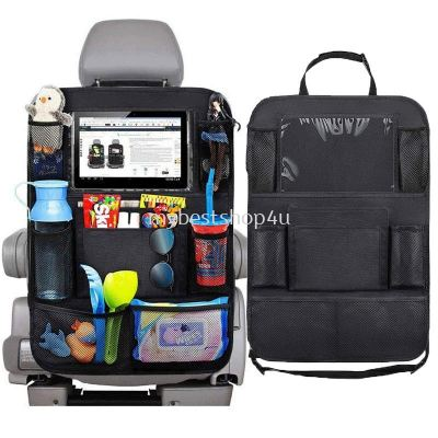 Universal Car Seat Back Organizer Multi-Pocket Storage Bag