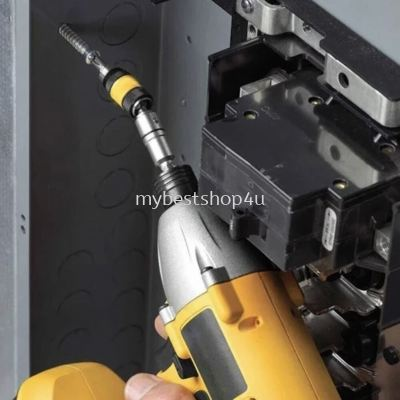 Magnetic Screw Drill Tip Drill Screw Tool Quick Change Locking Bit Holder Drive Guide Drill Bit Flex