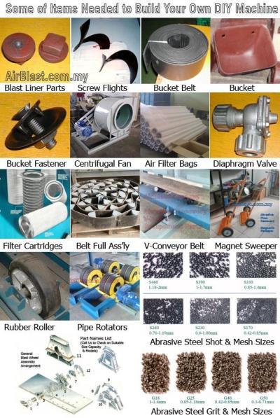 Machines DIY Parts 1