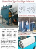 Down Flow Type Dust Collector