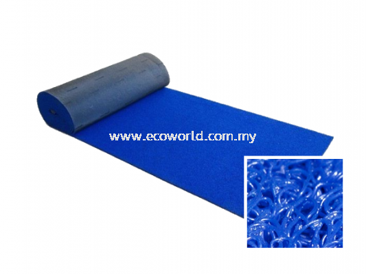 Medium Duty Coil Mat - Blue