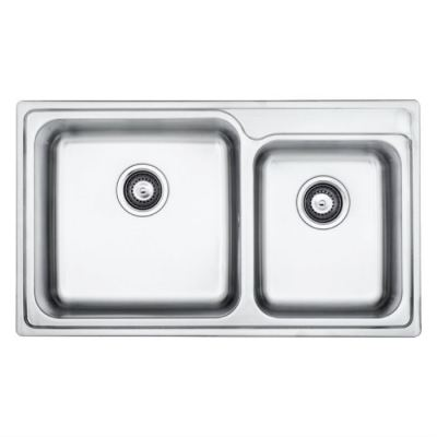 Stainless Double Bowl Sink MIX 620