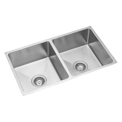 Stainless Double Bowl Sink -  UM 120