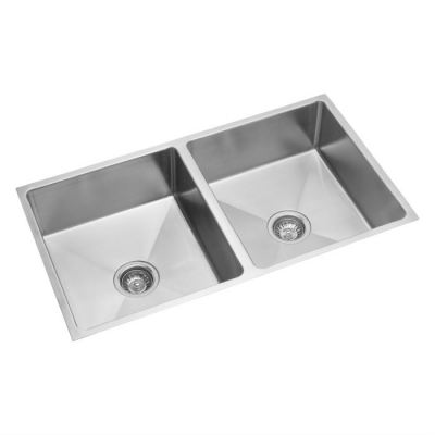 Stainless Double Bowl Sink - UM 121
