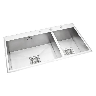 Stainless Double Bowl Sink KPX 620