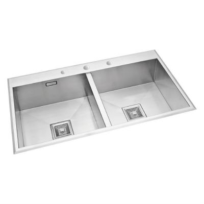Stainless Double Bowl Sink - KPX 622