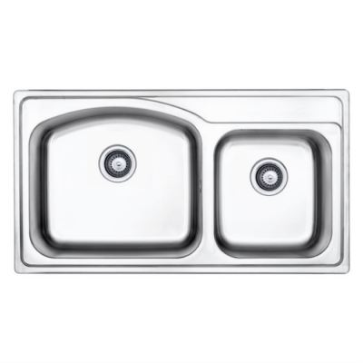 Stainless Double Bowl Sink MIX 623