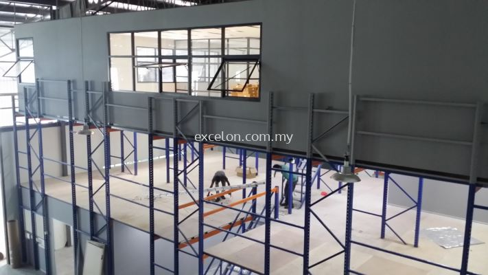 Racking Platform With Office