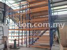 Multi-Tier Storage with G.I.Floor Plank Walkway Racking with Mezzanine Platform
