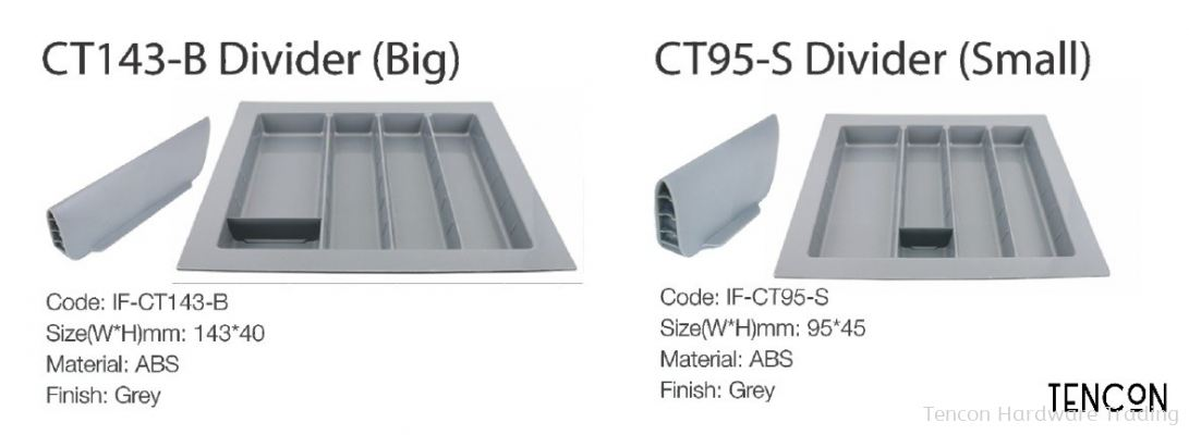 CT143-B Divider (Big), CT95-S (Small)