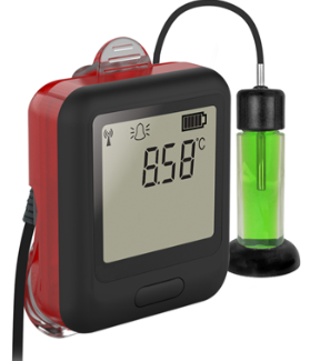 LASCAR EL-WIFI-VACX High-Accuracy WIFI Vaccine Monitoring Kit with Alarm Warning Light and Sounder