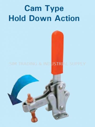 Cam Type (Hold Down Action)