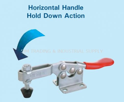 Horizontal Handle (Hold Down Action)
