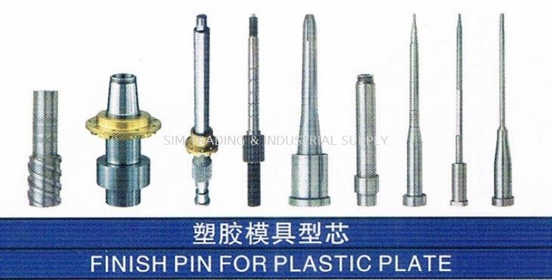 Finish Pin for Plastic Plate