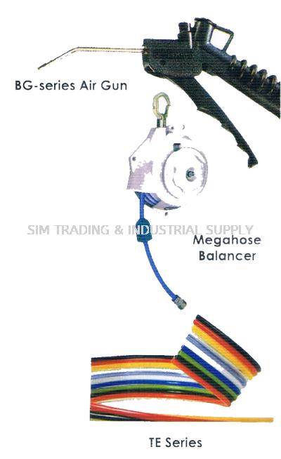BG - series Air Gun, Megahose Balancer, TE Series