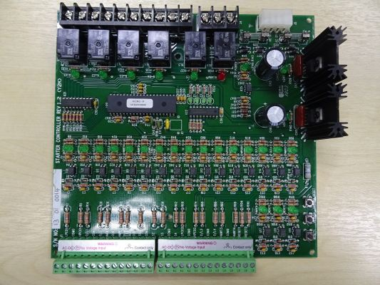 TRANE OUTDOOR IC BOARD (STARTER CONTROLLER-REV 1.2) (Y2K) FOR RAUP OR WCVS MODELS