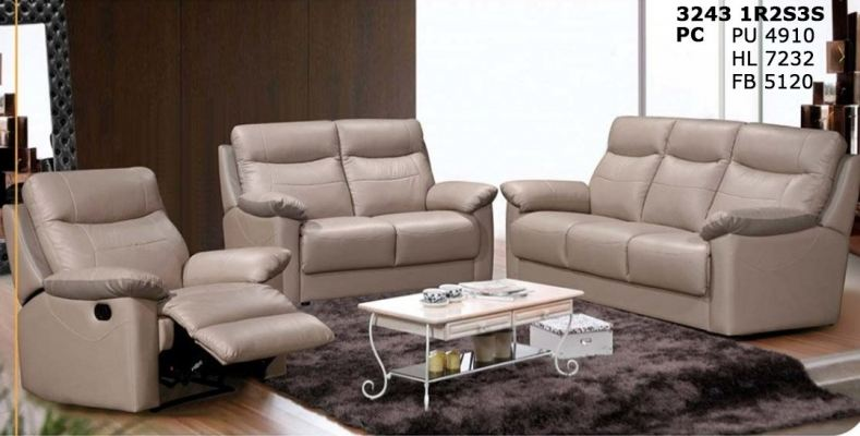 Comfortable Recliner sofa 1R 2Seaters 3Seaters