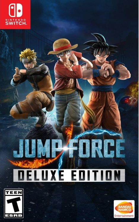 Nintendo Switch Jump Force Deluxe Edition(US)