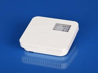 Room CO2+T+rH transmitter with Display RCD 010 THD