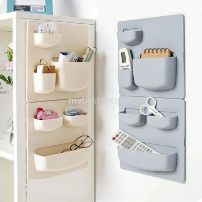 Kitchen and bathroom wall hanging storage rack home paste type punch-free wall mount