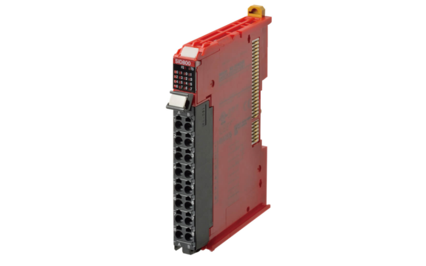 Omron NX-SI/SO 4 or 8 points per Safety Input Unit,2 or 4 points per Safety Output Unit.