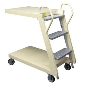 LT-3 (SPRING LOADED STEPS LADDER TROLLEY)