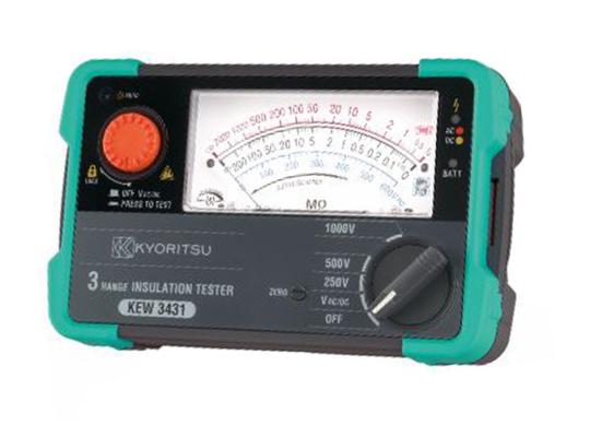 KYORITSU KEW3431 Analogue Insulation Testers