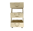 Smiley Sunshine Storage 3-Tiers Bucket