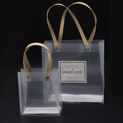 Frosted PVC bag